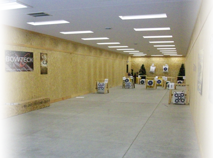 Northern waters northern wisconsins angling and archery for Indoor shooting range design uk